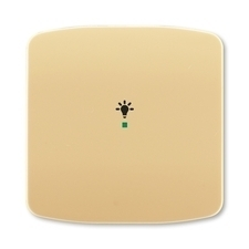 ABB 6220A-A01001 D free@home Kryt 1násobný, symbol osvětlení