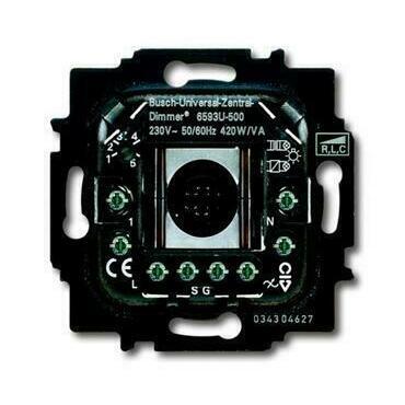 ABB 2CKA006590A0171 Přístroje Přístroj stmívače univerzálního, pro krátkocestné ovládání (6593 U-500
