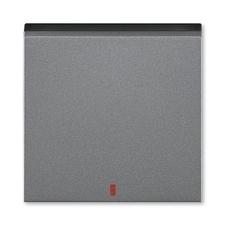 ABB 3559H-A00655 69 Levit Kryt spínače kolébkového s červeným průzorem