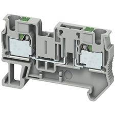 SCHN NSYTRP42TB Push-in svorka rozpojovací, 2 body 4mm2 šedá (obj. mn. 50ks) RP 0,01kč/ks
