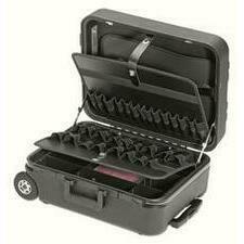 CIMCO 170074 Plastový kufr MEGA-WHEEL černý 410x550x245 mm