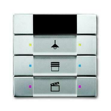 ABB 2CKA006135A0162 KNX Prvek ovládací 3- / 6násobný s IR rozhraním