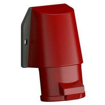 ABB 2CMA102329R1000 Průmyslové vidlice a z. Zásuvka nástěnná bezšroubová 16A - 5p., IP44, 6 h