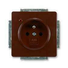 ABB 5598G-A02349 H1 Swing Zásuvka jednonásobná, s ochranou před přepětím