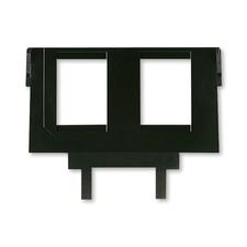 ABB 5014A-B1018 Maska nosná pro 2 komunikační zásuvky keystone Sdělovací technika