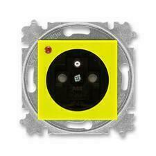 ABB 5599H-A02357 64 Levit Zásuvka jednonásobná, s ochranou před přepětím