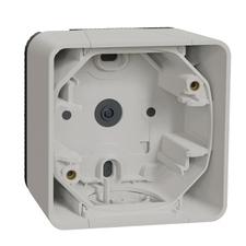 SCHN MUR39911 Povrchová instalační krabice 1 násobná, IP55 bílá