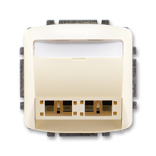ABB 5014A-A00420 C Tango Kryt zásuvky komunikační (pro prvky R&M freenet)