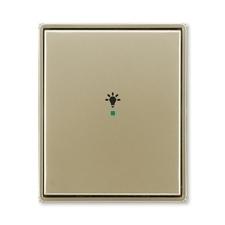 """ABB 6220E-A01001 33 free@home Kryt 1násobný, symbol """"osvětlení"""""""
