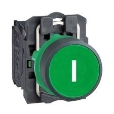 SCHN XB5AA3311 Ovládač stiskací lícující, 1 Z - zelený RP 0,04kč/ks