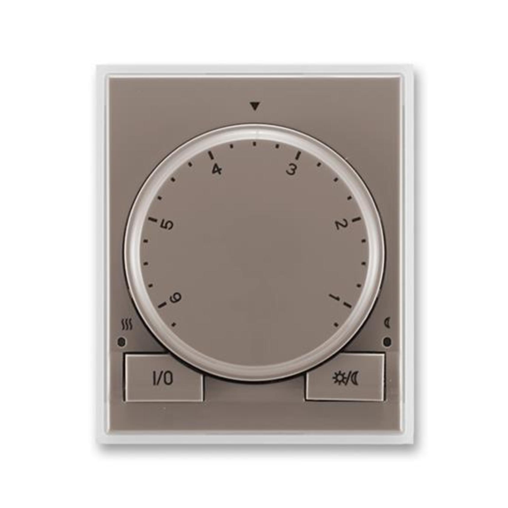 ABB 3292E-A10101 26 Time Termostat univerzální s otočným nastavením teploty (ovl. jednotka)