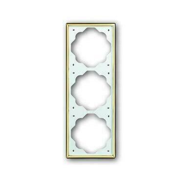 ABB 2CKA001754A3591 Impuls Rámeček trojnásobný, pro vodorovnou i svislou montáž