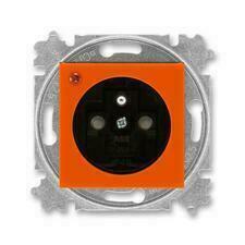 ABB 5599H-A02357 66 Levit Zásuvka jednonásobná, s ochranou před přepětím