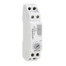 EL 1008146 Automat schodišťový PALADIN 284210, elektron., 1mod., 0,5-20min, 16A, šedý, na DIN lištu