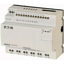 EATON 106400 EC4P-222-MTXX1 Řídicí relé easyControl, provedení bez displeje, 12 DI (4 AI), 8 DO, eas