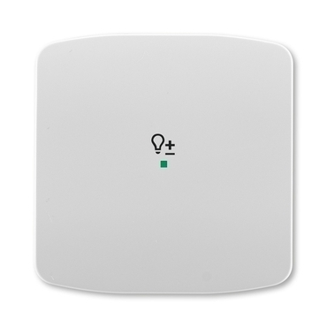 ABB 6220A-A01004 S free@home Kryt 1násobný, symbol stmívání