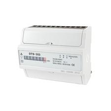 EL 1000885 Elektroměr DTS 353-M 60A, 7mod., mechanický číselník, 3-fáz., 1-tar., podružný RP 0,60kč/