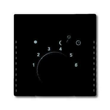 ABB 2CKA001710A3909 Future Kryt termostatu prostorového, s otočným ovládáním