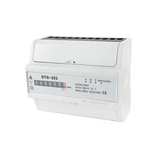EL 1000887 Elektroměr DTS 353-M 100A, 7mod., mechanický číselník, 3-fáz., 1-tar., podružný RP 0,60kč