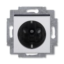 ABB 5520H-A03457 70 Jiné systémy zásuvek Zásuvka jednonásobná s ochrannými kontakty (podle DIN), s c