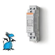 FINDER instalační relé 22.23.8.024.4000, 1Z+1R/20A, 24V AC