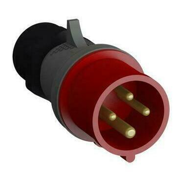 ABB 2CMA102305R1000 Průmyslové vidlice a z. Vidlice bezšroubová 16A - 4p., IP44, 6 h