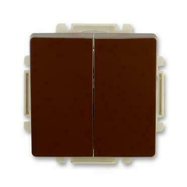 ABB 3557G-A52340 H1 Swing Přepínač střídavý dvojitý, řazení 6+6, s krytem