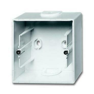 ABB 2CKA001799A0897 Úložný materiál Krabice přístrojová jednonásobná, pro lištové rozvody