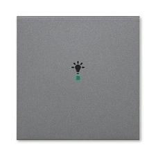 ABB 6220H-A01001 69 free@home Kryt 1násobný, symbol osvětlení