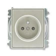 ABB 5519E-A02357 32 Time Zásuvka jednonásobná, chráněná, s clonkami, bezšroubové svorky