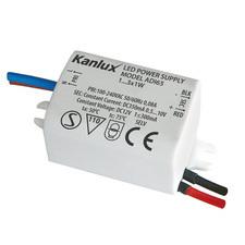 KANLUX ADI 350 1-3W Elektronický transformátor pro napájení LED svítidel