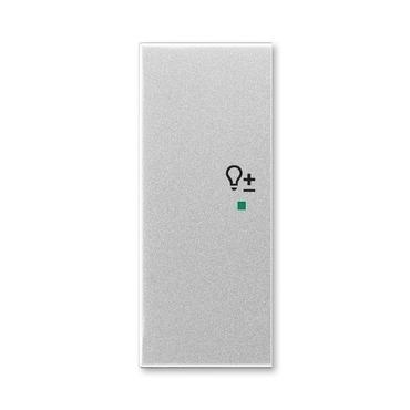 """ABB 6220E-A02104 08 free@home Kryt 2násobný levý, symbol """"stmívání"""""""