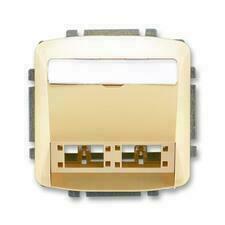 ABB 5014A-A00420 D Tango Kryt zásuvky komunikační (pro prvky R&M freenet)