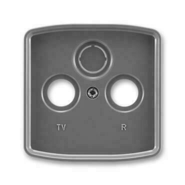 ABB 5011A-A00300 S2 Tango Kryt zásuvky televizní, rozhlasové (a satelitní)