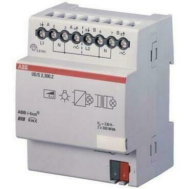 ABB 2CDG110074R0011 KNX Spínací a stmívací akční člen řadový 2násobný, 300 V.A