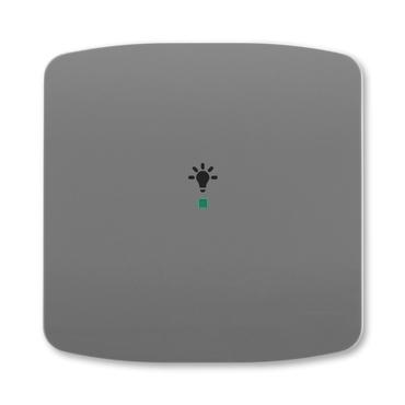 ABB 6220A-A01001 S2 free@home Kryt 1násobný, symbol osvětlení