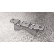wpr8381 PTA-LBR-2Z držák na sloup LONG BRIDGE pro pásy do š. 16 mm, pro 2 - 3 šrouby, hloubka: 30 mm