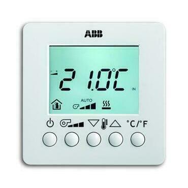 ABB 2CKA006138A0003 KNX Prostorový termostat pro fan-coil