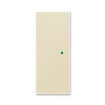 ABB 6220E-A02000 21 free@home Kryt 2násobný levý/pravý, bez potisku