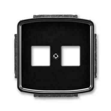 ABB 5014A-A02018 N Tango Kryt zásuvky komunikační přímé (2x), s kovovým upevňovacím třmenem