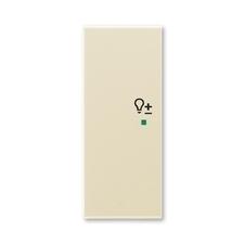"""ABB 6220E-A02104 21 free@home Kryt 2násobný levý, symbol """"stmívání"""""""