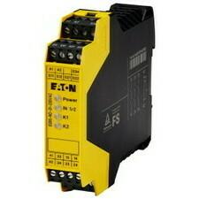 EATON 119380 ESR5-NO-31-230VAC Elektronické bezpečnostní relé, 230V AC, 3 zap. 1 vyp. kont., dvoukan