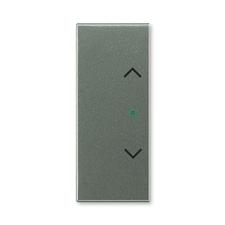 """ABB 6220E-A02002 34 free@home Kryt 2násobný levý/pravý, symbol """"žaluzie"""""""
