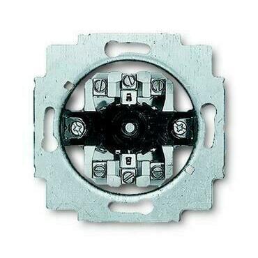 ABB 2CKA001101A0534 Přístroje Přístroj spínače žaluziového otočného (1+1 s blokováním), 2pólový