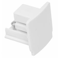 ECOPLANET Koncovka na 3-fázové lišty, bílá