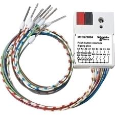 SCHN MTN670804 KNX tlačítkové rozhraní 4-násobné plus, Polar RP 0,04kč/ks