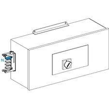 SCHN KSA400ABDD4 Koncová napájecí skříň 400 A  pravá s jištěním RP 24,42kč/ks
