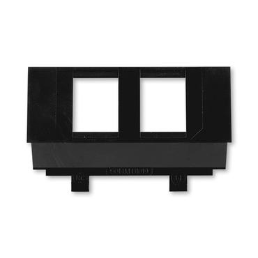 ABB 5014M-B01018 Maska nosná pro 2 komunikační zásuvky keystone Sdělovací technika