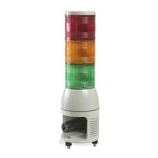 SCHN XVC1M3HK Smontovaný signální sloup,100 mm,LED,100-240V,Siréna,Ru-Oranž-Ze RP 4,54kč/ks