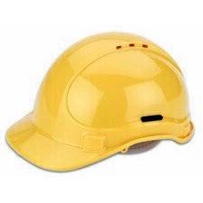CIMCO 140200 Ochranná přilba VDE 50-66 žlutá